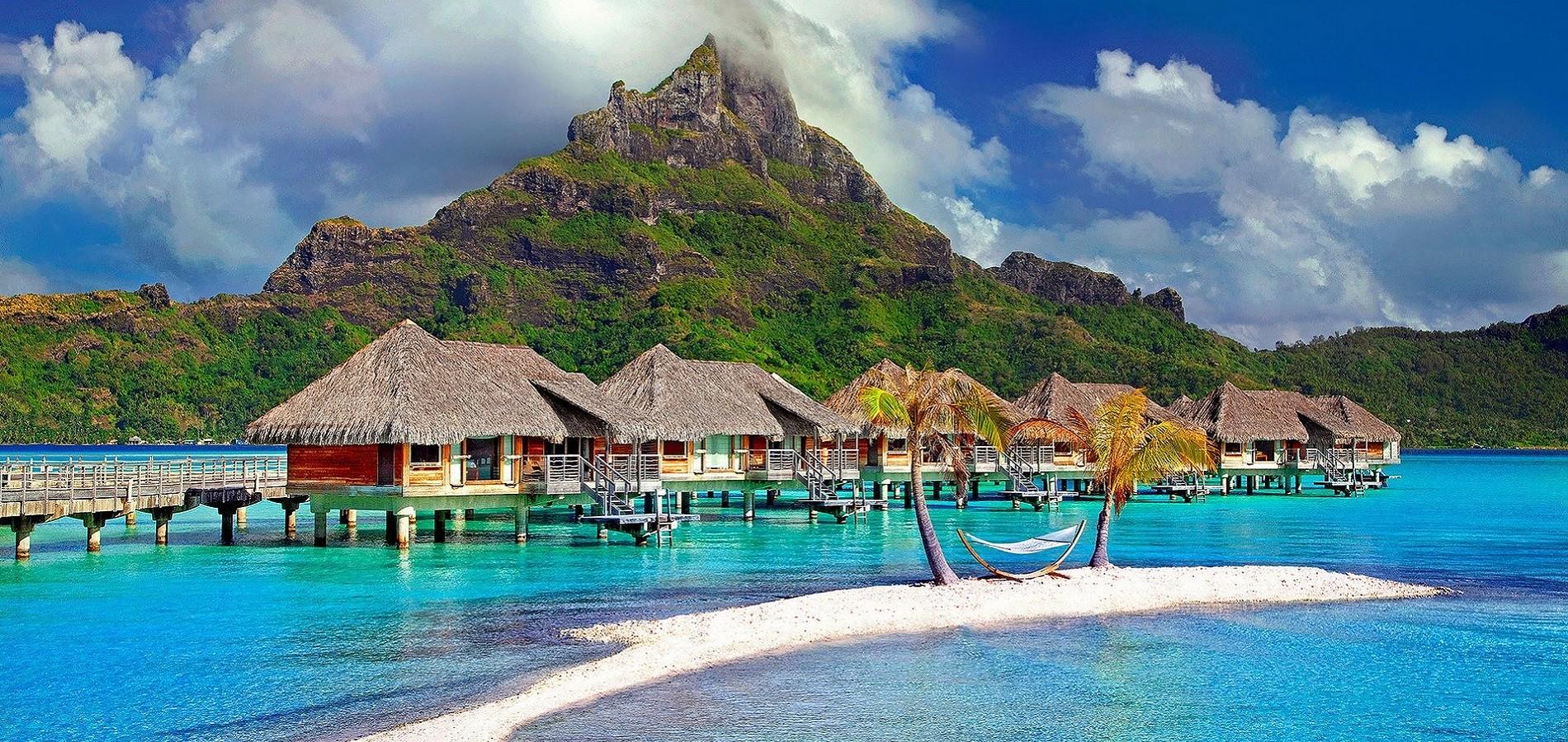 Putovanje Bora Bora - doživite jedinstveni raj na dalekom putovanju u bungalovima na plaži