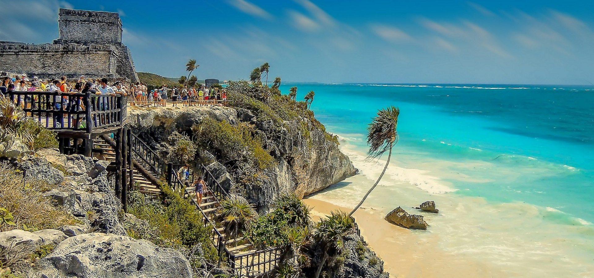 Spektakularna obala Tulum savršena je destinacija tijekom putovanja u Mesiko.